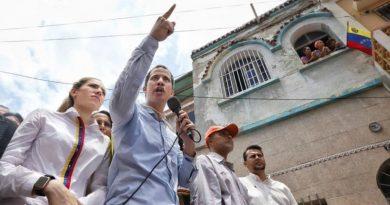 """Guaidó: """"Con Maduro en el poder no puede haber elecciones libres""""."""