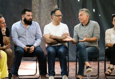 Macri reapareció en una charla de dirigentes en Villa La Angostura.