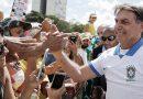 Coronavirus en Brasil: Bolsonaro salió a la calle para animar a la gente a romper el aislamiento