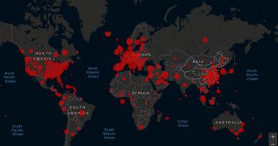 Mapa del coronavirus en el mundo, en tiempo real hoy, 29 de marzo