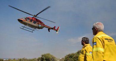 Nación manda un helicóptero y arranca el operativo por los incendios en las islas frente a Rosario