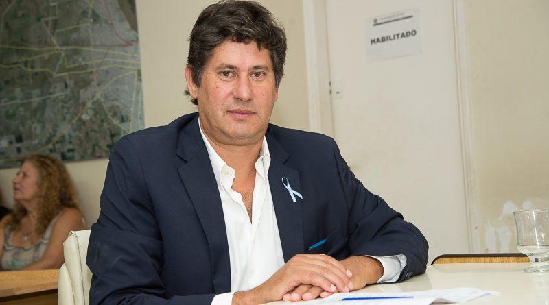Rolvider Antonio Santacroce, intendente de la ciudad de Funes.