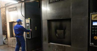 El crematorio municipal retomó su ritmo de trabajo tras las obras de remodelación