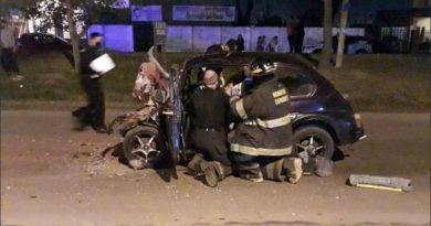 Tremendo choque en Fray Luis Beltrán: murió un menor de edad