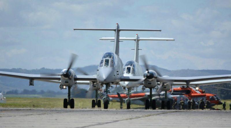 """El """"Pucará"""" vuelve a volar a finales de este año como plataforma de vigilancia aérea."""