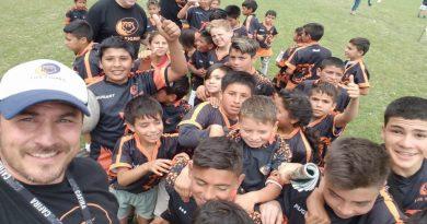 """Agustín Amelong y el rugby social: """"La buena gestión de las fuerzas de seguridad de la provincia evitó que usurparan el predio en barrio Gráfico"""""""