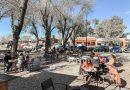 Caferías de Funes atienden con mesas afuera