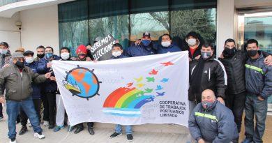 Portuarios del cordón industrial se movilizan para reclamar elecciones en gremio de Puerto San Martín