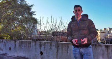 """Federico Padin con sus fotos se ha convertido en """"un artista urbano suelto en las redes"""""""