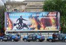 Con una intervención en La Rural, Greenpeace denunció al sector agropecuario por los incendios.