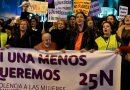 Judiciales se suman a la marcha contra la violencia machista