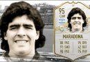 Se dispara el precio de las cartas de Maradona en FIFA Ultimate Team