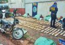 Secuestraron más de 180 kilos de marihuana tras un control vehicular en Puerto Iguazú