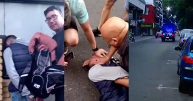 Otro arresto civil: vecinos retuvieron y golpearon a delincuente en Italia al 1000