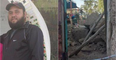 San Juan: ayudaba a reconstruir una casa golpeada por el terremoto y murió aplastado por una pared de adobe