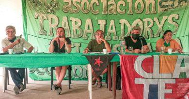 Analía Ratner de la bancaria abrió un panel sobre los trabajadores en el momento actual