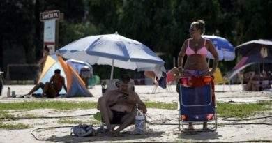 El clima en Rosario: 36,7° de sensación térmica y hasta el viento dejó la ciudad