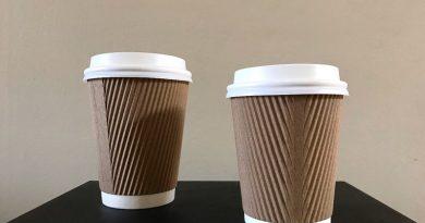 Fabricarán en Argentina los vasos de papel para las cafeterías y los locales de comida rápida