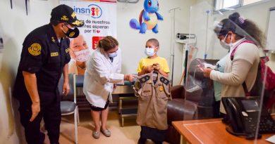 """Un nene con leucemia pudo cumplir su sueño de """"convertirse"""" en policía"""
