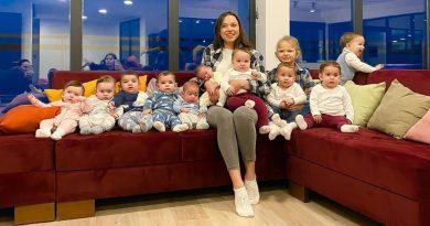 Tienen 23 años, 11 hijos y sueñan con llegar a 100 para ser la familia más grande del mundo