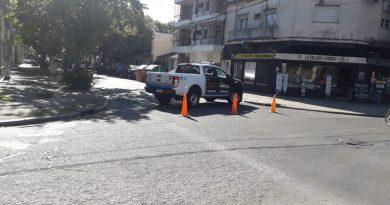 Dos motociclistas heridos tras un siniestro vial en 3 de Febrero y Suipacha