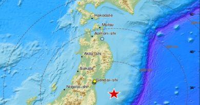 Se produjo un sismo de magnitud 7,1 ante las costa este de Japón