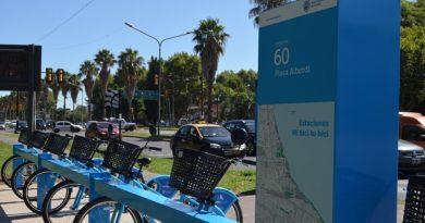 Está habilitada la nueva estación Plaza Alberdi de Mi bici tu bici