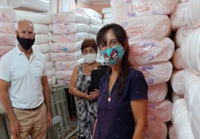 La provincia entregó 33 mil pañales al Hospital Vera Candioti de la ciudad de Santa Fe