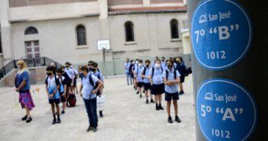 Las escuelas rosarinas piden responsabilidad a los chicos que viajaron