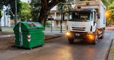 El municipio amplía la prueba piloto de separación de residuos a barrio Alberdi