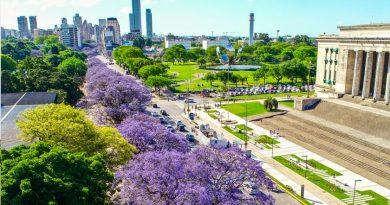 Buenos Aires ciudad, reconocida entre las metropolis mas arboladas del mundo
