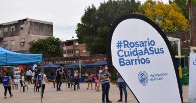 La Plaza de los Cuidados visitó barrio Acindar