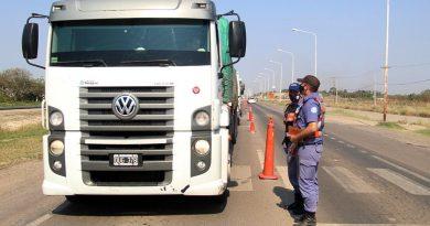 Las nuevas medidas de circulación para transportes internacionales arrancan el miércoles.