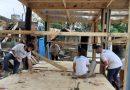 TECHO y Pensaer construyeron ocho viviendas progresivas en Rosario