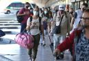 Intenso movimiento en la terminal de ómnibus por Semana Santa