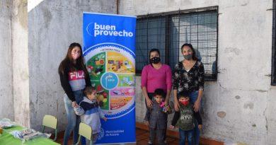 El municipio asiste y acompaña la alimentación saludable de la primera infancia