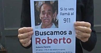 Se solicita información sobre el paradero de Roberto Daniel Parente