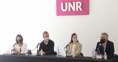 La provincia participó del lanzamiento de la incubadora de empresas científico tecnológicas de la UNR