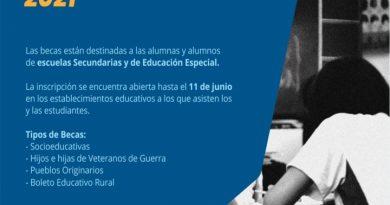 La provincia continúa con la inscripción a las becas para estudiantes secundarios y de educación especial