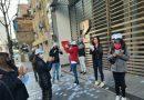 Se movilizaron los trabajadores del Seguro por un pedido de aumento salarial