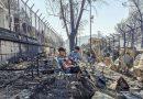 Grecia: Condenaron a cuatro afganos por el incendio de Moria, el mayor campo de refugiados en Europa