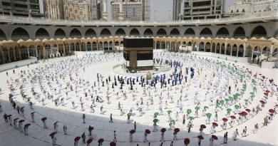 Arabia Saudita permitirá peregrinar a La Meca a 60.000 residentes vacunados
