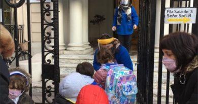 Así volvieron los más chiquitos a sus salitas de jardín en Rosario
