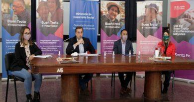 Santa Fe lanzó la campaña de buen trato hacia las personas mayores