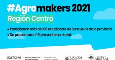 La provincia realizó una nueva edición de agromakers junto a estudiantes y docentes de localidades del centro provincial