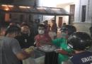 Cadetes solidarios: Reparten unas 400 raciones de comida en barrio Toba y unas 150 para personas en situación de calle