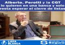 Un gremialista de la CGT integraría la lista de diputados nacionales dentro del Frente de Todos por Santa Fe