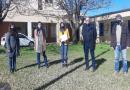 Funcionarios de educación recorrieron escuelas del departamento San Justo