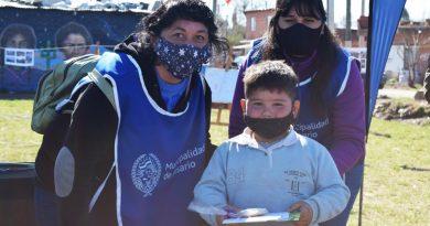 Nuevo Alberdi: culminó una nueva edición de la propuesta cultural itinerante para niñas y niños