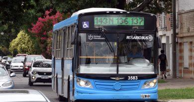 Se actualiza la tarifa del transporte urbano de Rosario